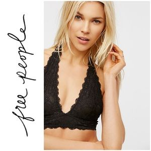 Free People Intimates & Sleepwear - Intimately Free People Galloon Halter Bralette L